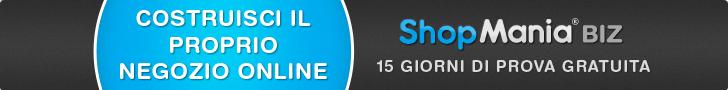Costruisci il proprio negozio online, 15 giorni di prova gratuita